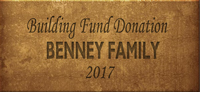 Building Fund Brick BENNEY 2017