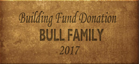 Building Fund Brick BULL 2017