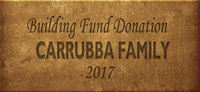 Building Fund Brick CARRUBBA 2017