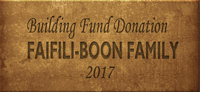 Building Fund Brick FAIFILI-BOON 2017
