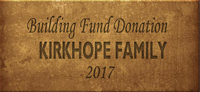 Building Fund Brick KIRKHOPE 2017
