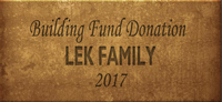 Building Fund Brick LEK 2017