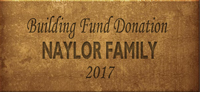 Building Fund Brick NAYLOR 2017