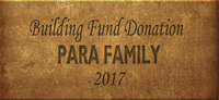 Building Fund Brick PARA 2017